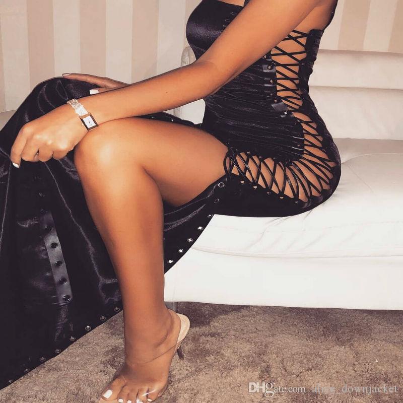 Georgetown black bodycon dress near me for women sleeve