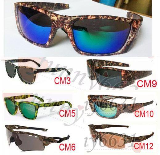 2caf73ec4 Compre Mais Novo VERÃO DOS HOMENS De Esportes Camuflagem SUNglasses  Camouflage Óculos De Proteção Mulheres Mossyoak Realtr Óculos De Ciclismo  Óculos 12 ...