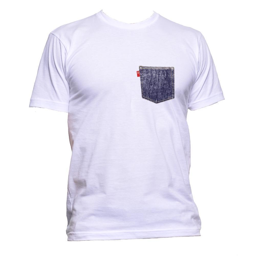 e366a8ef Denim Fake Pocket Unisex T Shirt Mens Womens Fashion Comedy Cool Funny  Hipster Cool Tee Designs Tees Shirts Cheap From Beidhgate10, $11.01|  DHgate.Com