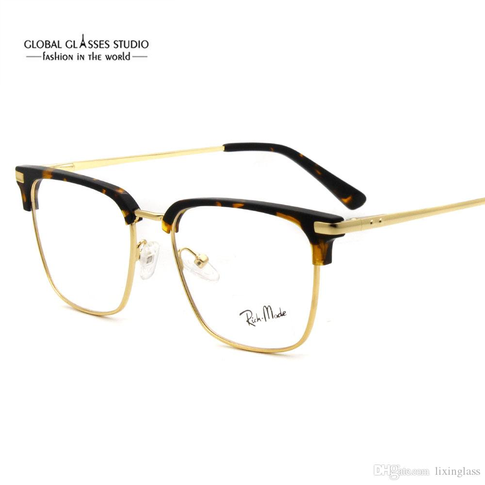 50cc245c0b Classic Design Men Metal Optical Eyeglass Frames with Acetate G77 Unisex Eyewear  Glasses Optical Eyeglasses Online with  33.54 Piece on Lixinglass s Store  ...