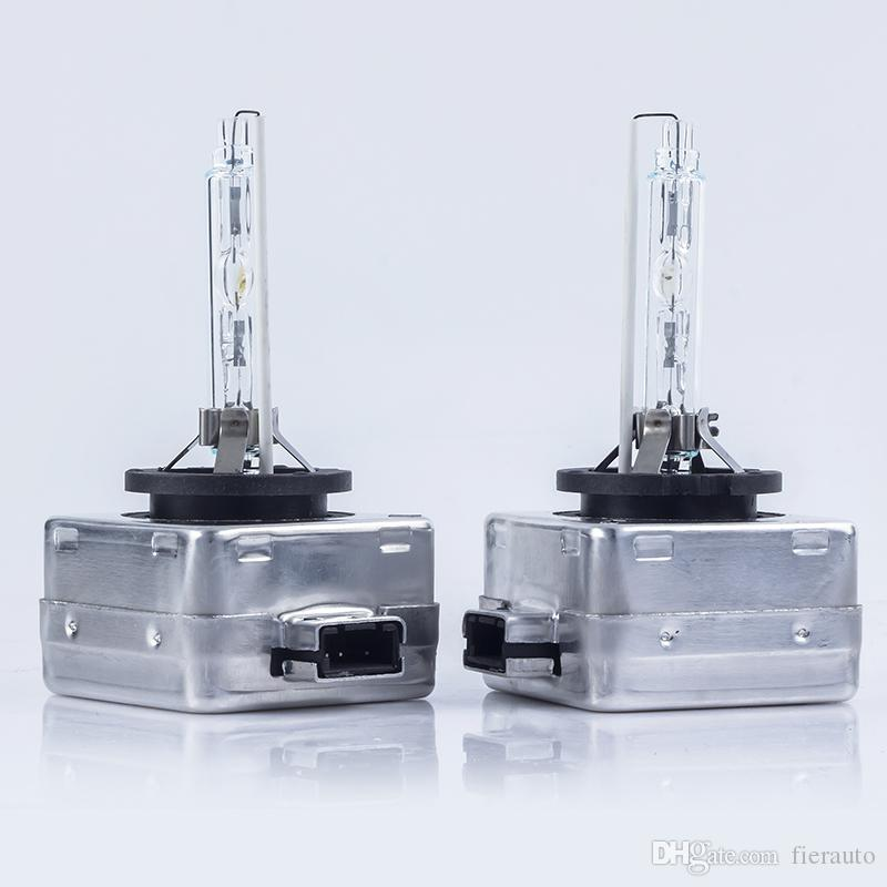 50 ÇİFT D1S Yedek HID D1S Xenon Ampüller 12v 35w D2S D3S lambaları 4300K 5000K 6000K 8000K D1S Farlar sakladı