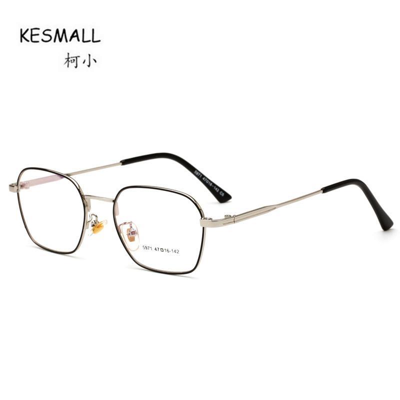 Compre Kesmall Nueva Marca Diseñador Gafas Marco Hombres Gafas De Alta  Calidad Marcos Mujeres Lente Transparente Gafas Occhiali Miopia Xn791 A   20.22 Del ... a3dbeb95253d