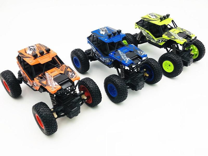 1:20 off-road climbing car RC rechargeable remote control car two-drive four-drive toy car 2.4G remote control vehicle