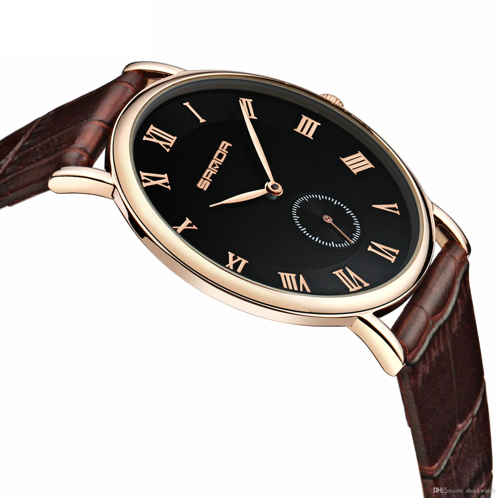 d17ad7ce38658 2018 New Arrival New Rose Gold Slim Dress Ladies Watch Stylish Women Watches  Couple Quartz Wristwatches Steel Relogio Feminino Best Watches In The World  ...