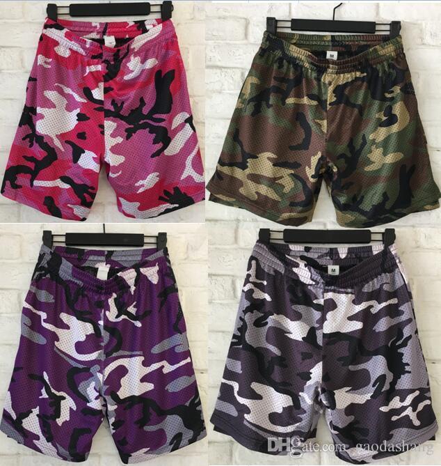 2019 FOG Beach Mesh Shorts Men Women Summer Loose Streetwear Camouflage  Shorts Fashion Joggers Drawstring ArmyGreen Red Camo Shorts From  Gaodashang 1bbbb6f4972