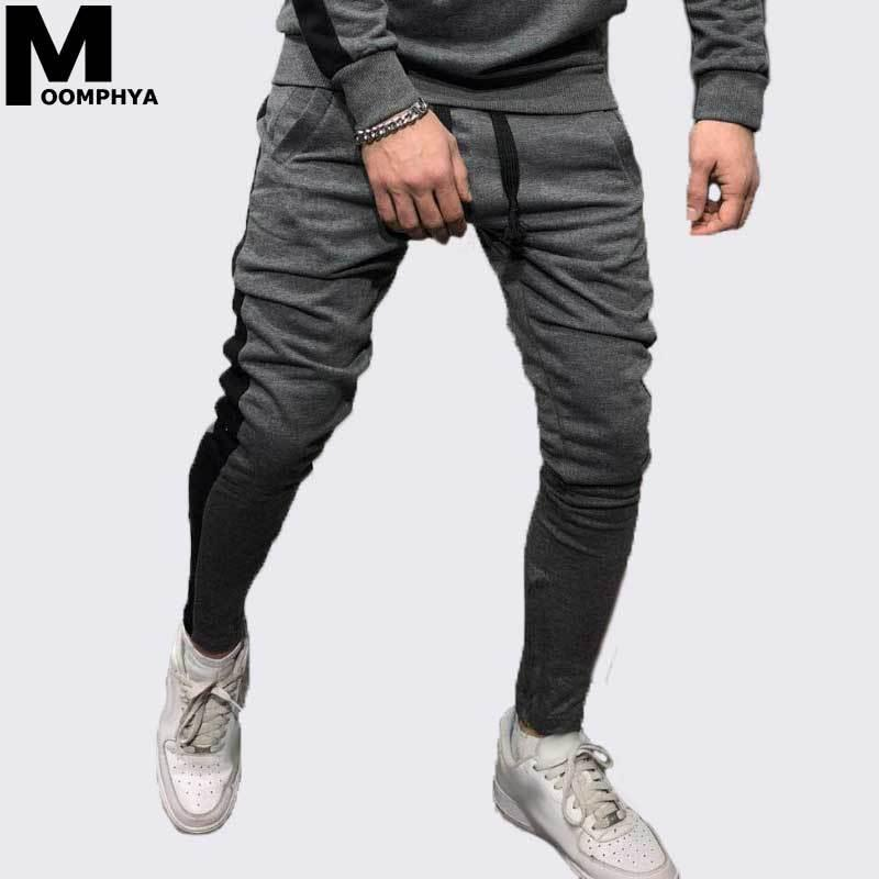 Elegante Laterali Uomo Slim Moomphya A Righe Pantaloni Acquista B5vqwPP