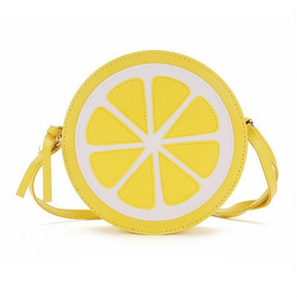 dd36f4e9b73d Fashion Women Mini Shoulder Bag PU Leather Handbag Funny Lemon Shape Cross  Body Bag Travel Cell Phone Bags New Messenger Hot Dakine Backpack Ogio  Backpack ...