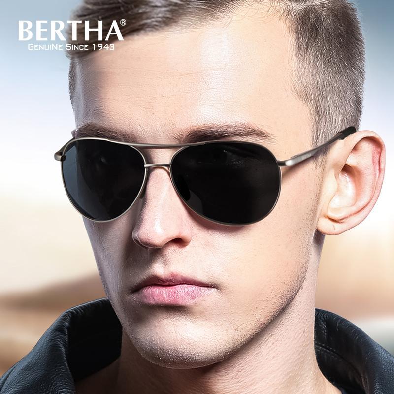 codice promozionale e6c53 a0cd7 Bertha Occhiali fotocromatici Occhiali da sole sportivi polarizzati  Occhiali da vista da uomo 2188