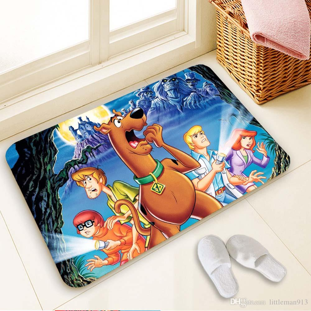 2018 Scooby Doo Doormat Custom Your Mats Print Slip Resistant Door Mat  Floor Bedroom Living Room Rugs 40x60cm 50x80cm From Littleman913, $17.18 |  DHgate.Com