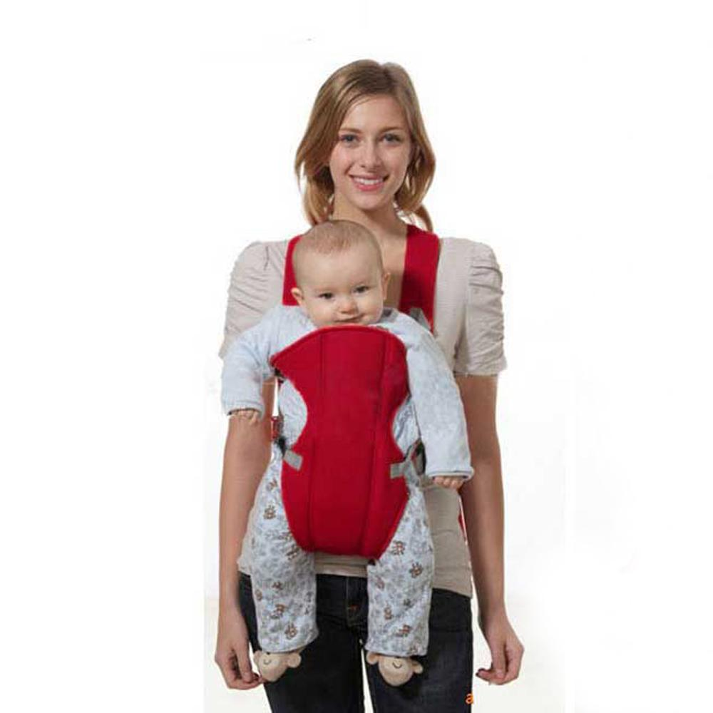 bad96777f34 2019 2018 Red Front Facing Newbrons Baby Carrier Sling Pouch Wrap Kangaroo  For Baby Children 2 30 Months Kids Backpack From Cornemiu