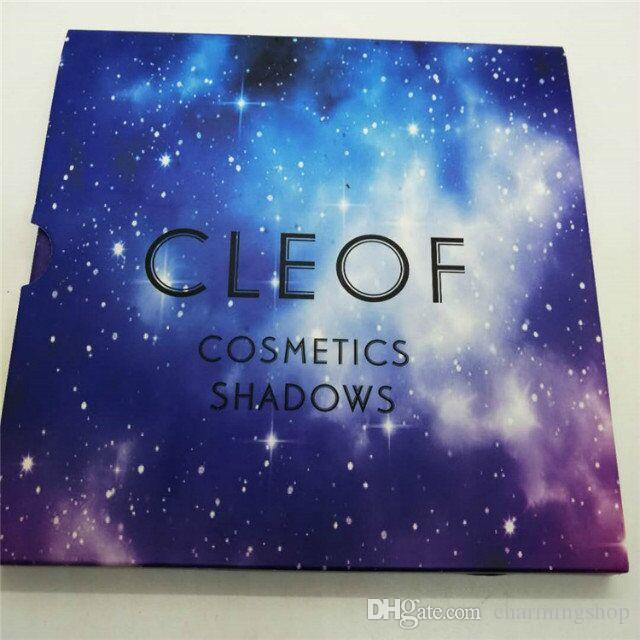 Top quality 2018 newest Cleof Eyeshadow palette Glitter Eye Shadow Pallet cleof cosmetics shadows DHL