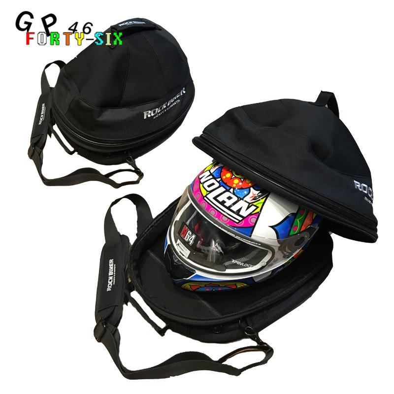 63d7d89ba2 Motorcycle Helmet Bag Motorcycle Tail Bag Moto Riding Helmet Bags Luggage  Shoulder Backseat Top Case Bolsa De Casco Motorcycle Storage Bags Motorcycle  Tail ...