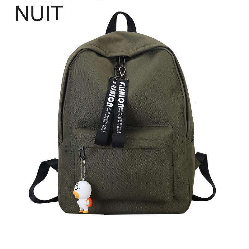 Students School Backpack Japan Korean Style