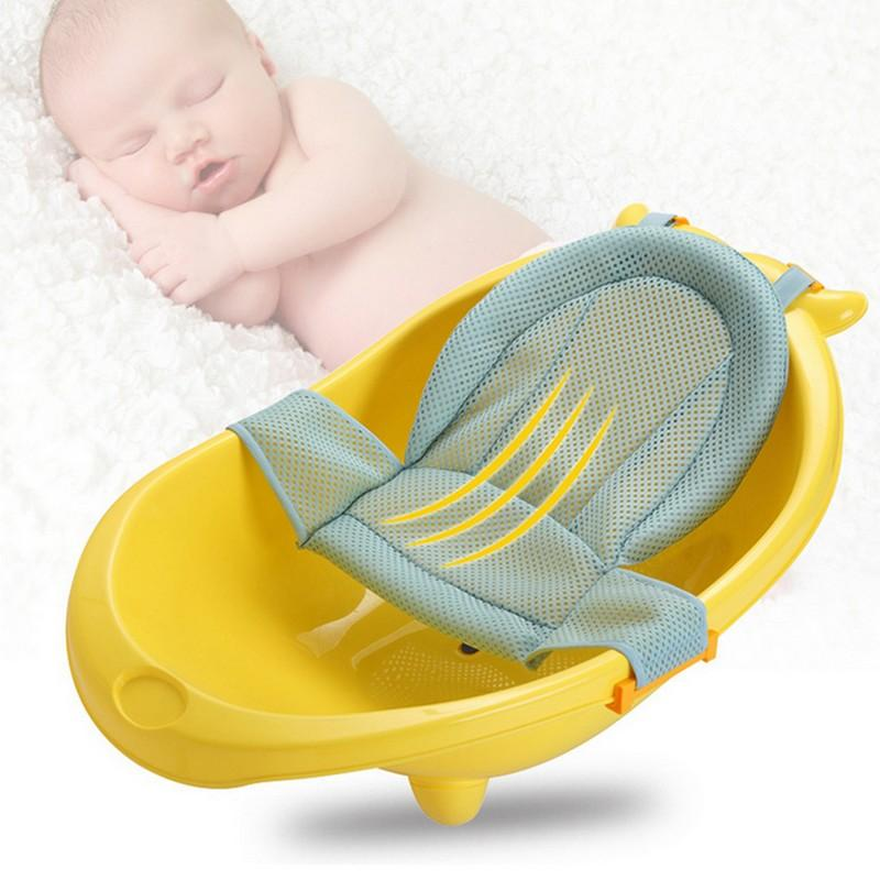 2018 Ummer Newborn Baby Bath Seat Net Bed Cushion Pillow Pad Support ...