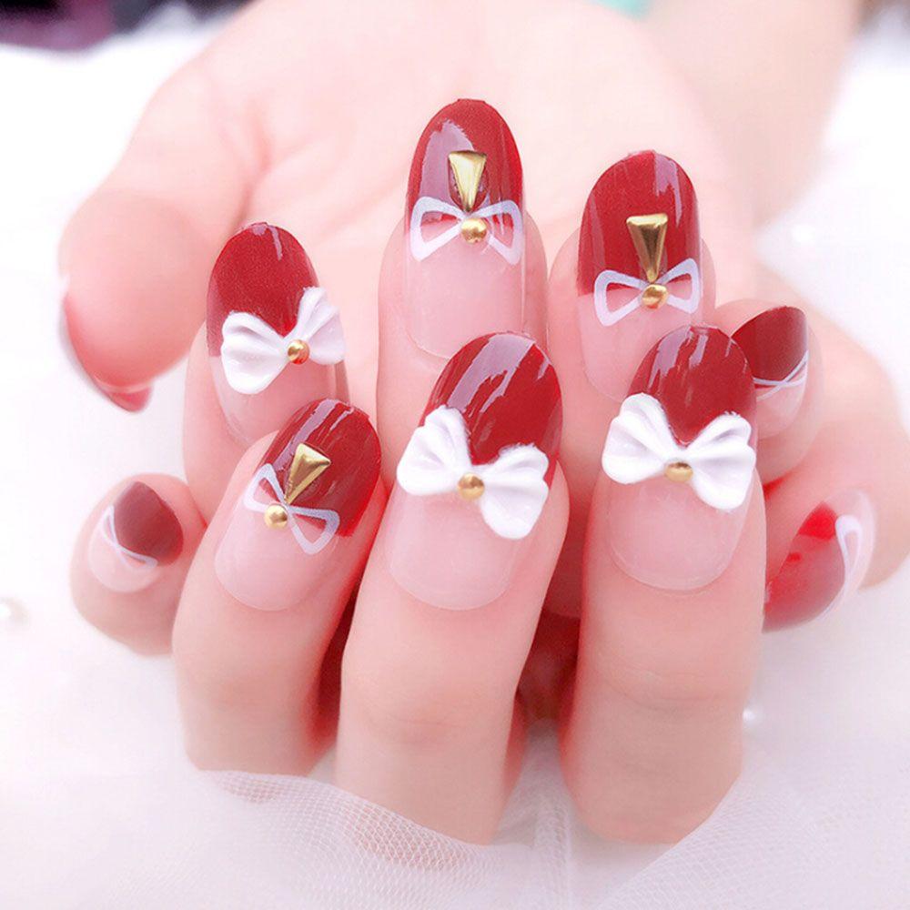 3d Bling Nail Art Jewelry Wedding Bridal Glitter Rhinestone French