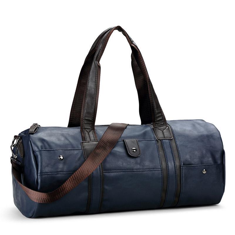 747fbd4ef81b Large Travel Bag Leather Mens Duffel Man Traveling Crossbody Bag Business  Men Shoulder Bags Designer Luggage Weekender Tote Travel Backpacks  Briefcases From ...