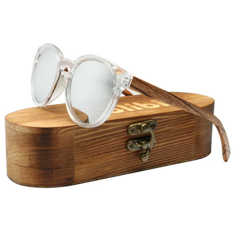 15bec793b9 Compre Ablibi Vintage Redondo Para Hombre Gafas De Sol De Madera Polarizadas  Con 100% De Bloqueo Uv, Lentes Hd Tonos De Madera Sun Glass Men In Box A  $25.13 ...