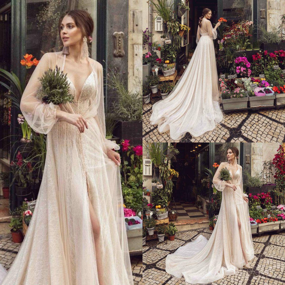 Discount Robe De Mariée Sirène Plus Size Wedding Dress With Jacket ...