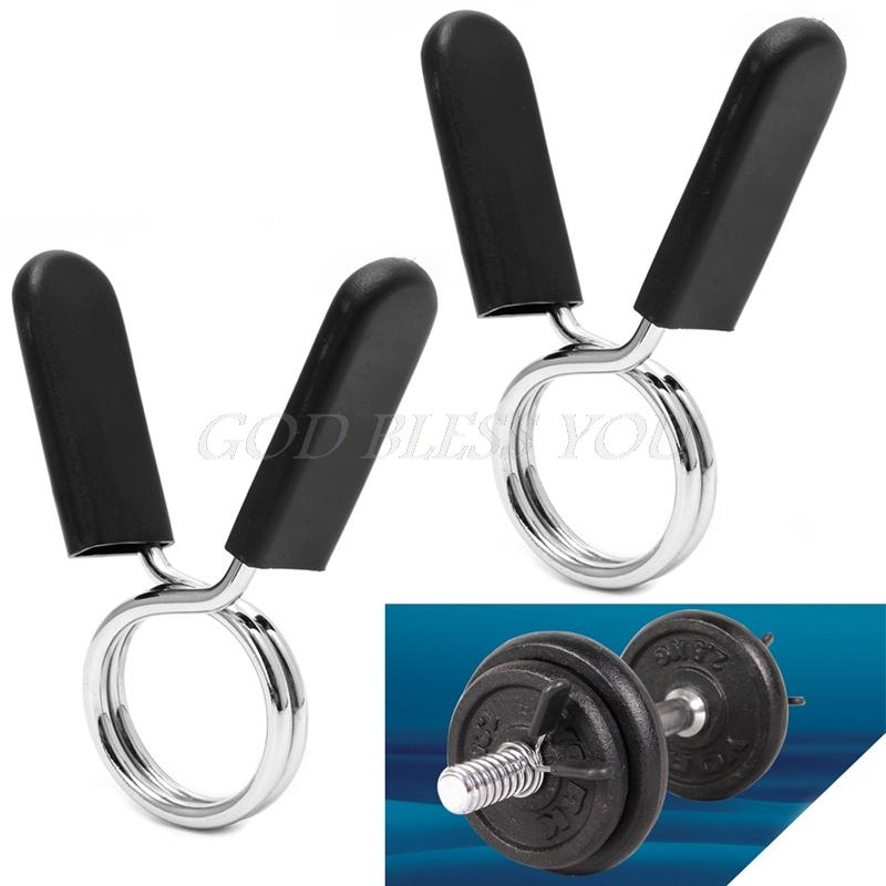 30mm Buckle Clip Barbell Gym Weight Lifting Bar Dumbbell Lock Clamp ... 484520163201