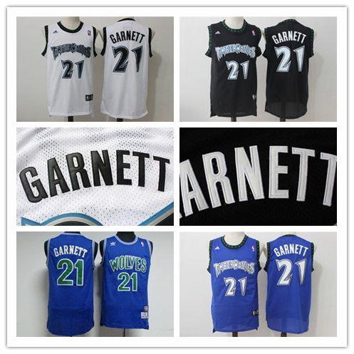 2019 Retro Mens 21 Kevin Garnett Minnesota Jerseys Timberwolves Basketball  Jerseys Authentic Stitched Classic Kevin Garnett Retro Jerseys From ... 12885ddd6
