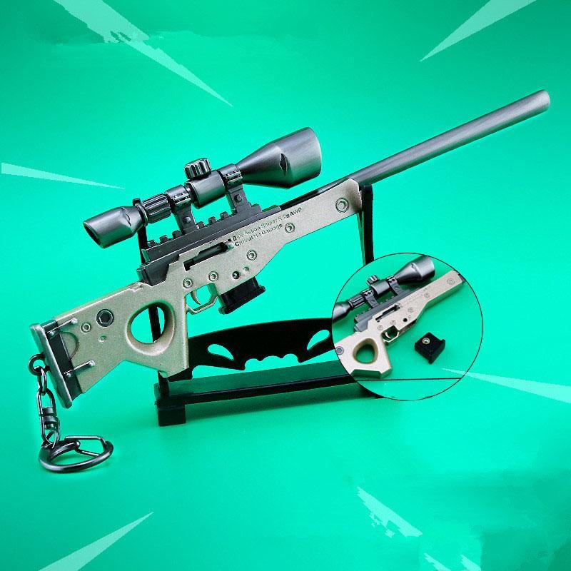 2019 Pubg Battle Royale Awm Tie Type Sniper Rifle Model Keychain