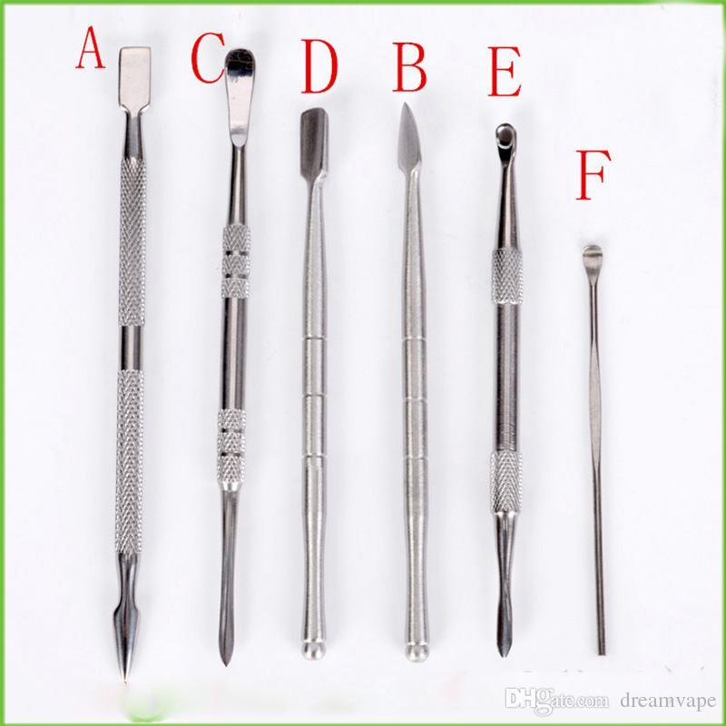 Balmumu Dab Aracı Balmumu Atomizör Paslanmaz Çelik Dab Titanyum Tırnak Temiz Aracı Kuru Ot Buharlaştırıcı Kalem Aracı