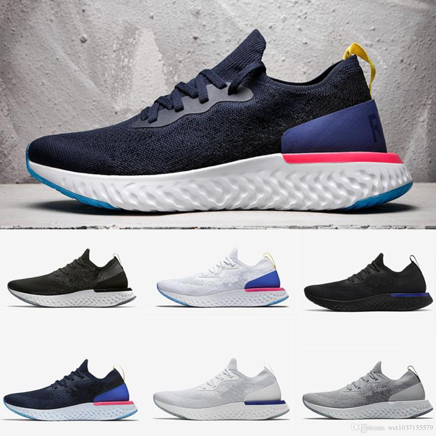 585a7fc1a302 2018 Hot Sale Epic React Instant Go Fly Men Women Running Shoes Summer  Causal Mesh Breathable Sport Athletic Trains Designer Sneakers US36 4 Running  Shoes ...
