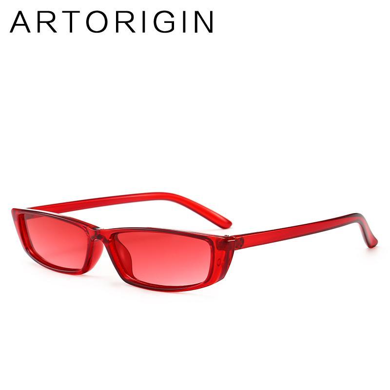 e1073e9d6c9 2018 Fashion Women Sun Glasses Red Black Flat Top Sunglasses Small Square  Frame Classic Shades Vintage Eyewear Oculos Sunglasses Shop Bolle Sunglasses  From ...