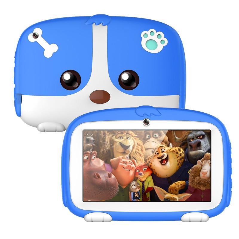 new 1GB/8GB 7 inch Allwinner A33 Quad Core Android 6.0 Dual Camera 1024*600 wifi bluetooth LED backlight Kids Tablet PC