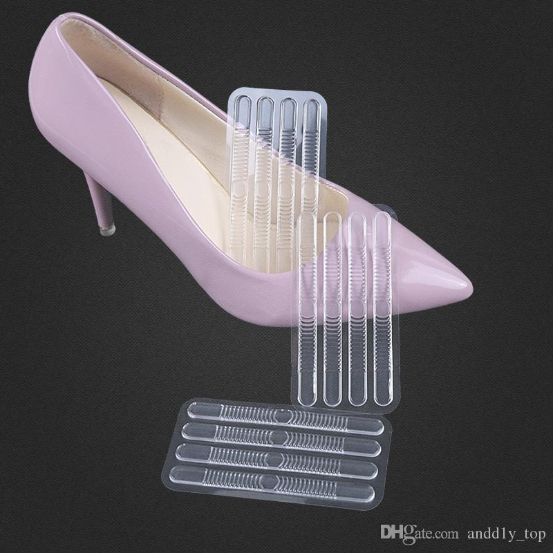 2018 gel high heel stickers anti wear clear invisiable heel paste soft strip paste shoes sandals grinding foot stickers from andd1y top 2 64 dhgate com