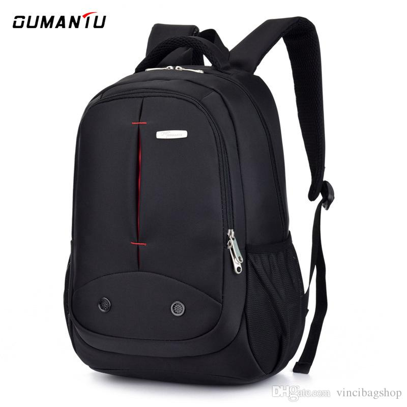 affa39a11576 Men S Fashion Backpack 15.6 Inch Laptop Bag Campus Backpack School Bag  Waterproof Nylon Business Backpacks Women Quality Rucksack B027 Hand Bags  Leather ...