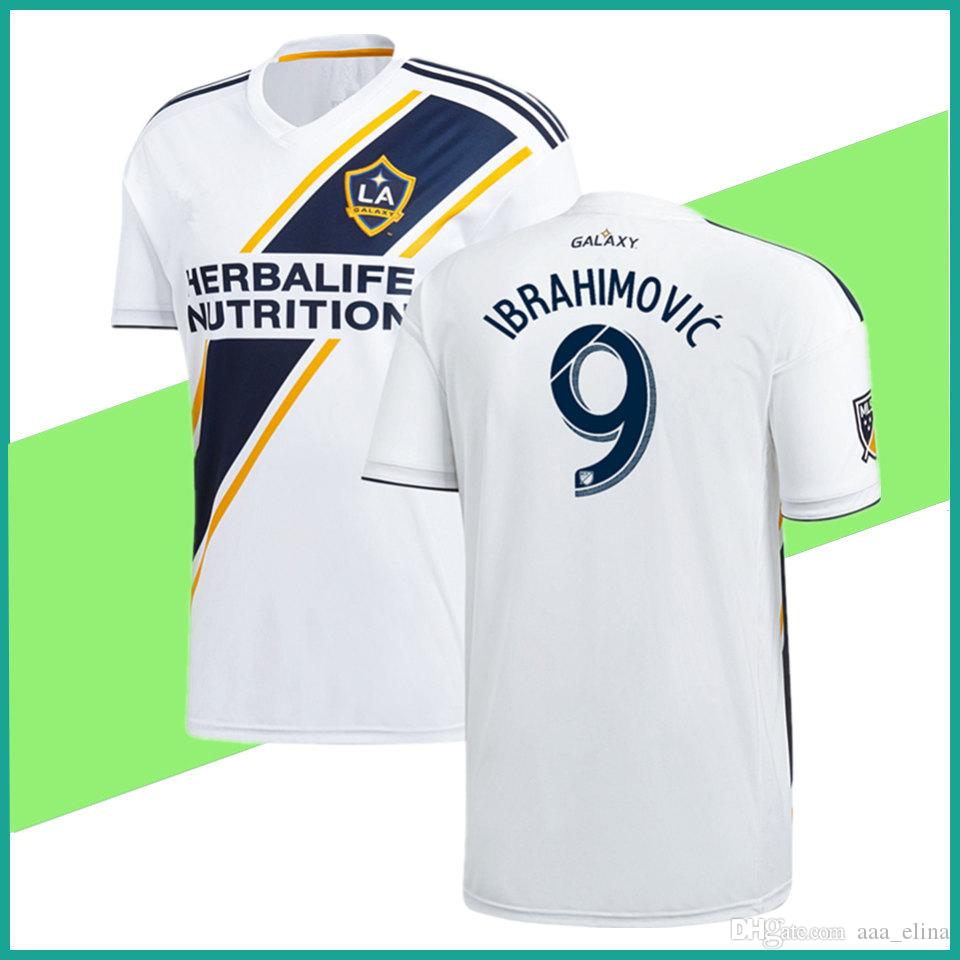 2018 New Ibrahimovic La Galaxy Jersey Home White 2018 Zlatan Galaxy Soccer  Jersey La Galaxy Zlatan Alessndrini J.Dos Santos Giovani Men Shirt From  Aaa_elina ...