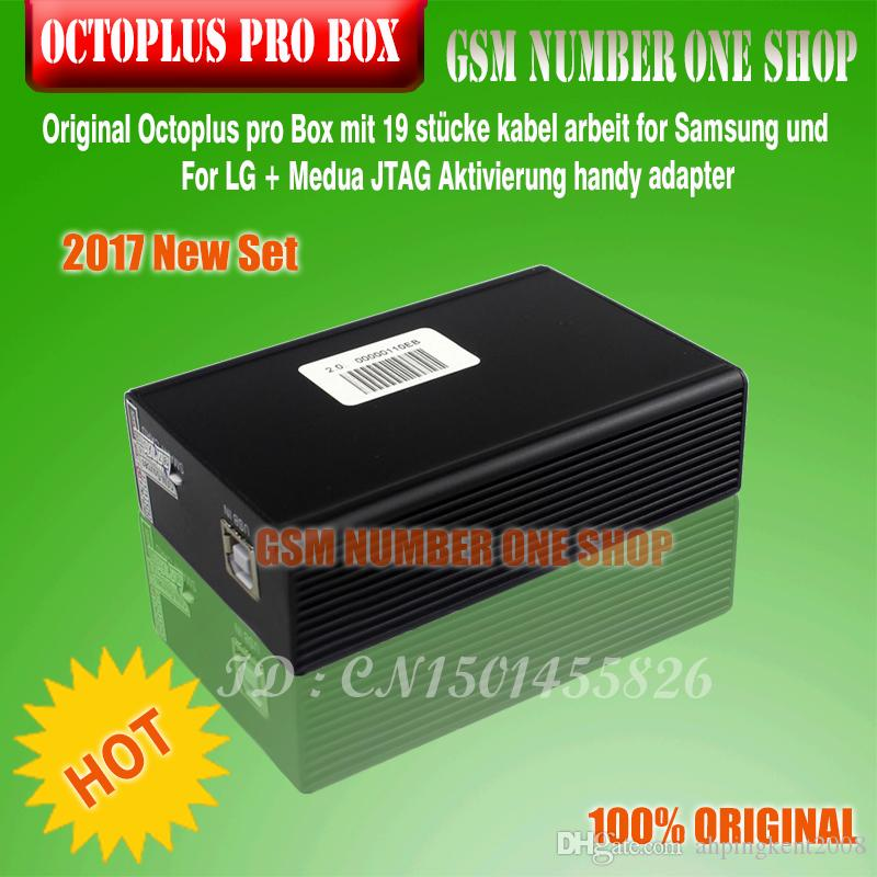 Original Octoplus pro Box with cables work for Samsung and FOR LG+Medua JTAG Activation mobile phone adapters by ems/dhl