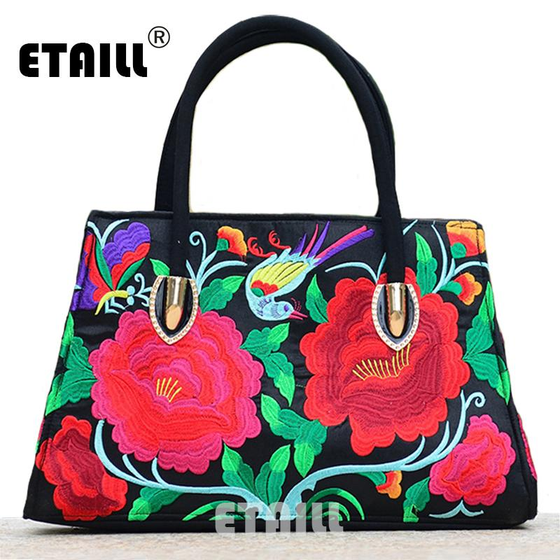 7404597577 2016 Chinese Boho Hobo Hmong Ethnic Embroidery Shoppers Bag Indian  Embroidered Handbag Shoulder Bags Luxury Brand Bag With Logo Hobo  Definition Handbags For ...