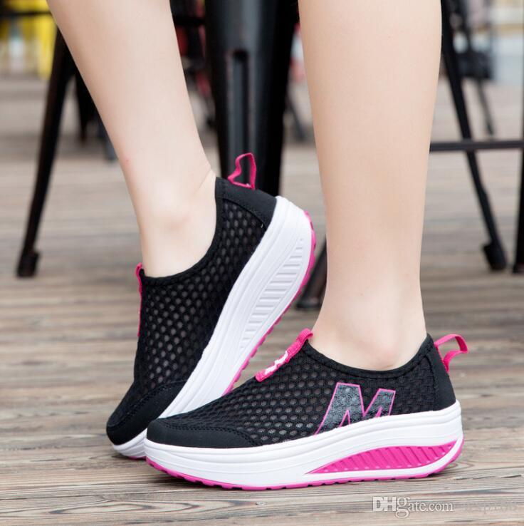 Mesh In esecuzione scarpe Donna Sports scarpe Super Casual Breathable Summer Casual Super a7737b