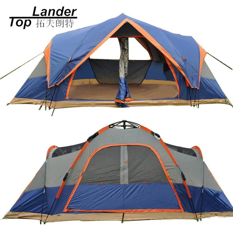 4 Season Outdoor Automatic Tent C&ing 5 6 Persons Double Layer Family Tents Waterproof Beach Large C&ing Tent Automatic Coleman Tent Cheap Tent From ...  sc 1 st  DHgate.com & 4 Season Outdoor Automatic Tent Camping 5 6 Persons Double Layer ...
