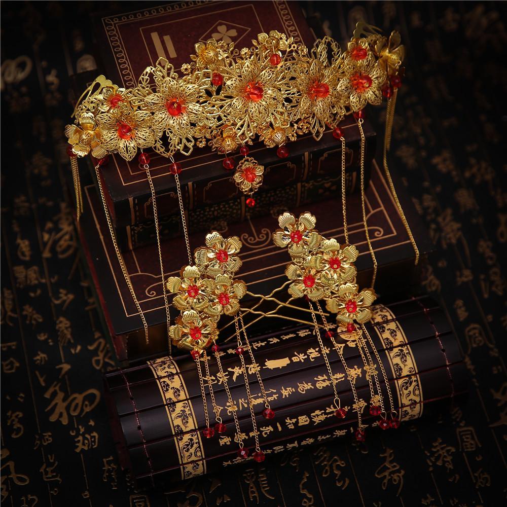 Grosshandel Traditionellen Schmuck Chinesischen Klassischen Kostum