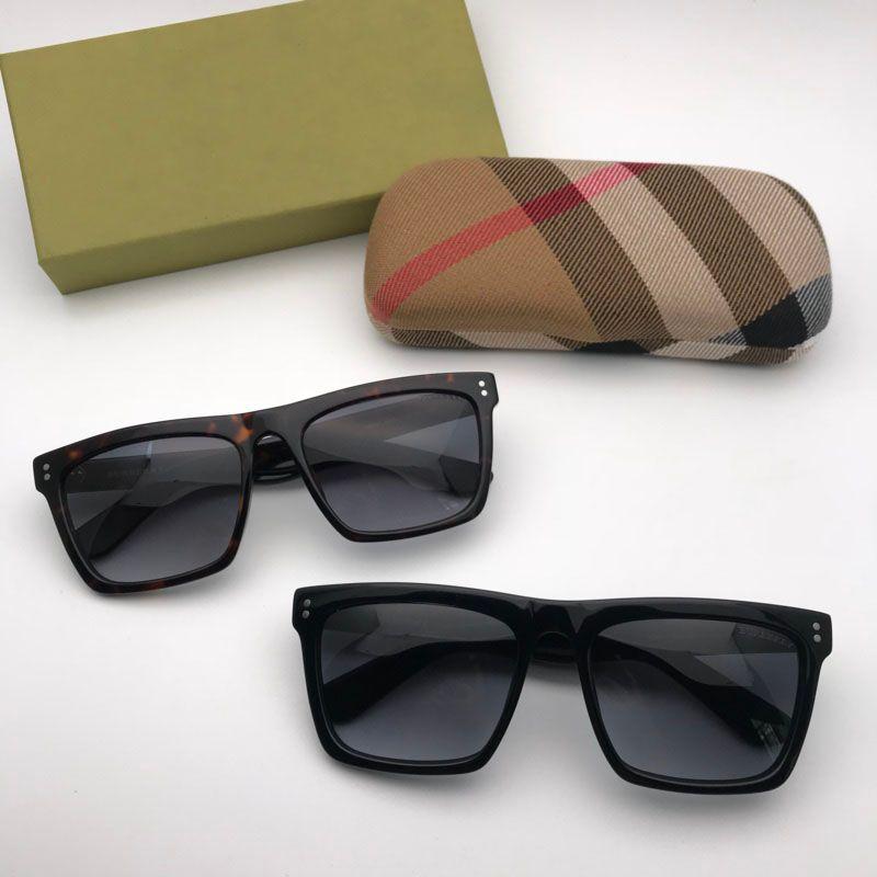 Femmes Uv Style Protection Hommes D Square Populaires Fashion Luxe Sunglasses Custom De Soleil Cadre Été Designer Lens Pour Burberry Lunettes 0P8nkZwOXN