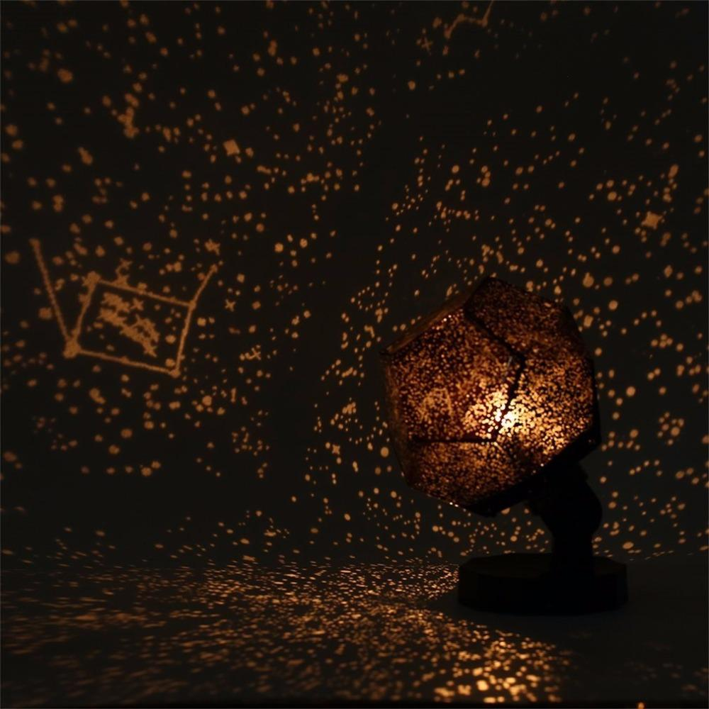 Yellow Children Star Night Beautiful Starry Cosmos Color 3d Master Revolving Lamp Projector Sky Gift Romantic Light Christmas BeQrdxECoW