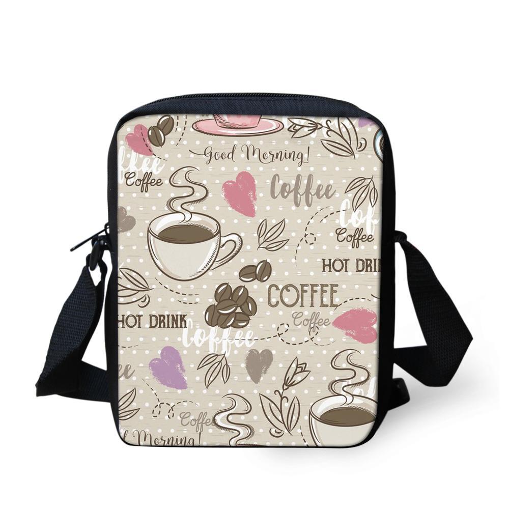 46ae8c876f8c FORUDESIGNS Kids Girls Crossbody Bags Multi Pocket Coffee Small Chain  Ladies Women Messenger Shoulder Bags Mini Clutch Purse Bag Backpack Straps  Hydration ...