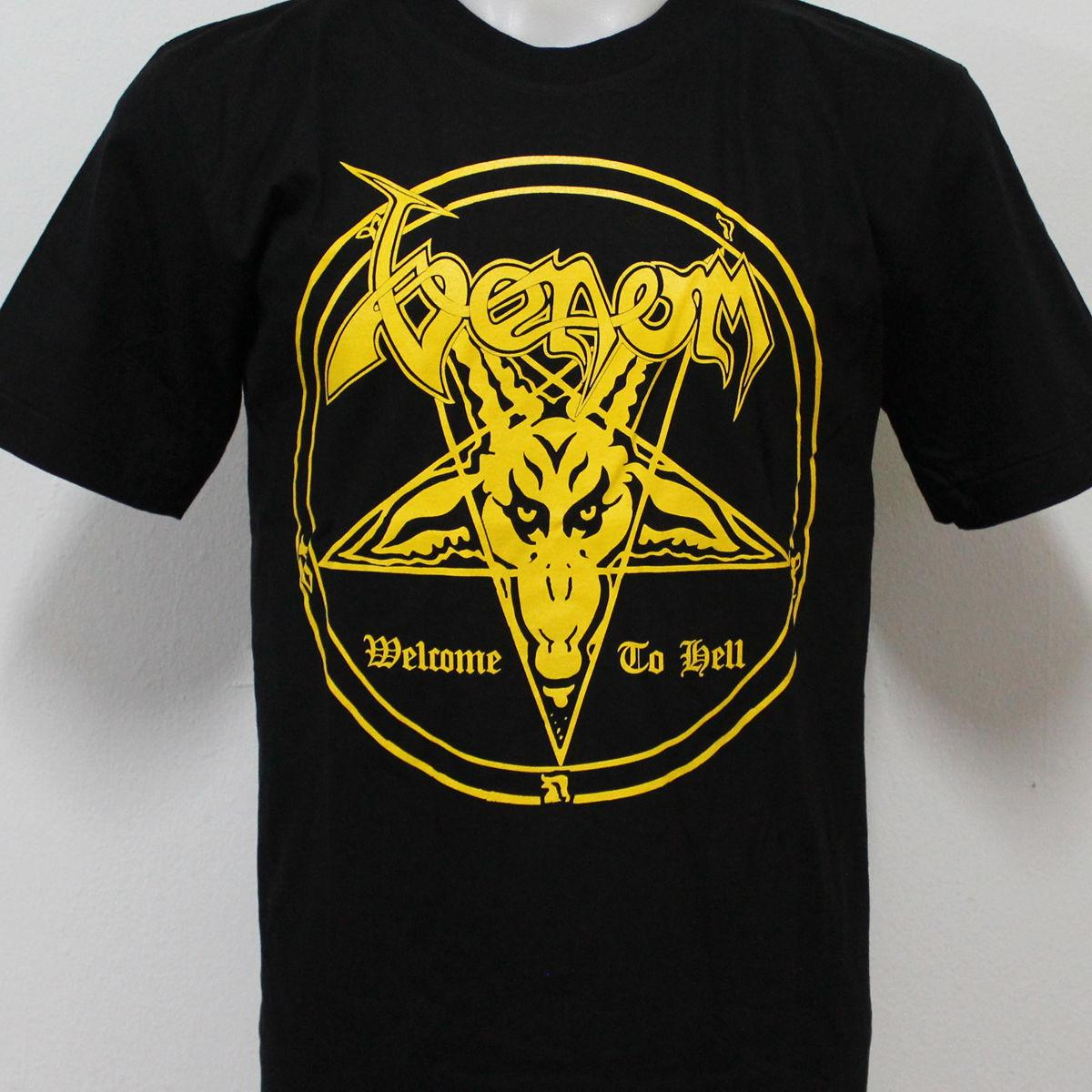 Welcome To Hell T-shirt Venom Fanartikel & Merchandise