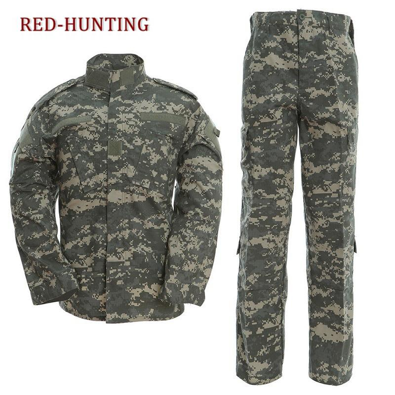 7ae69dae564d1 2019 US Army Uniform Gear ACU Camouflage Hunting Tactical Bdu Combat  Uniform US Army Men Clothing Set From Shinyday, $55.82 | DHgate.Com