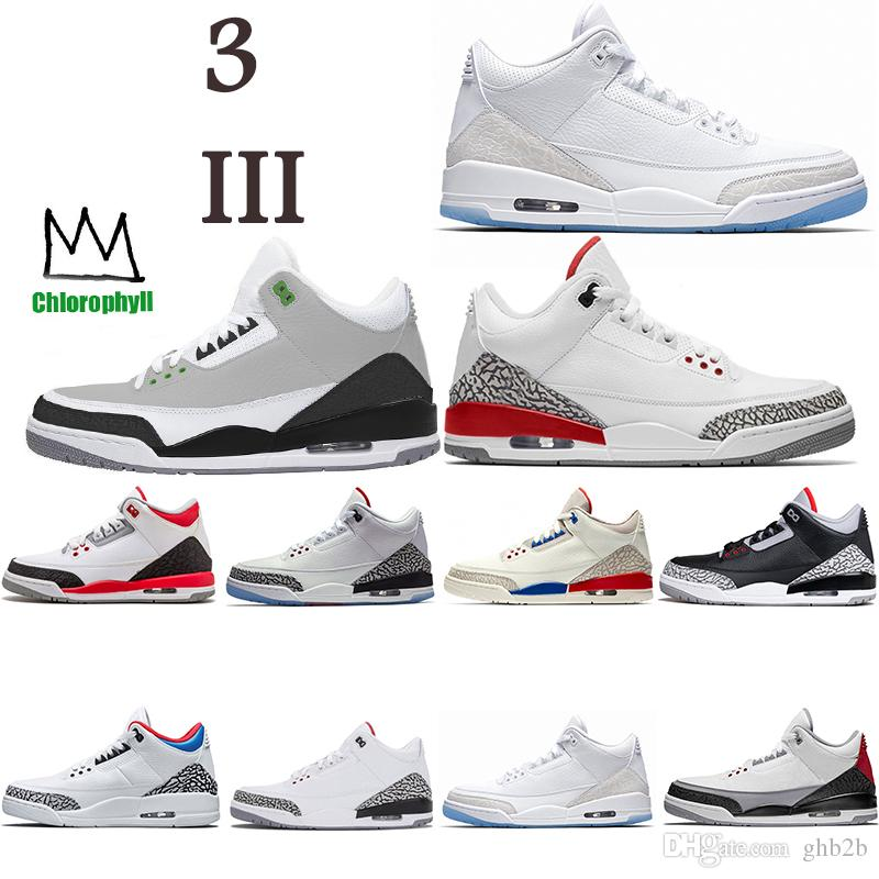 ea937c80fbaed8 2019 Trainer Chlorophyll Tinker NRG Black Cement White Katrina Mens  Basketball Shoe 3s Men Outdoor Designer Shoes Sneakers Sports Shoe US 7 13  From Ghb2b