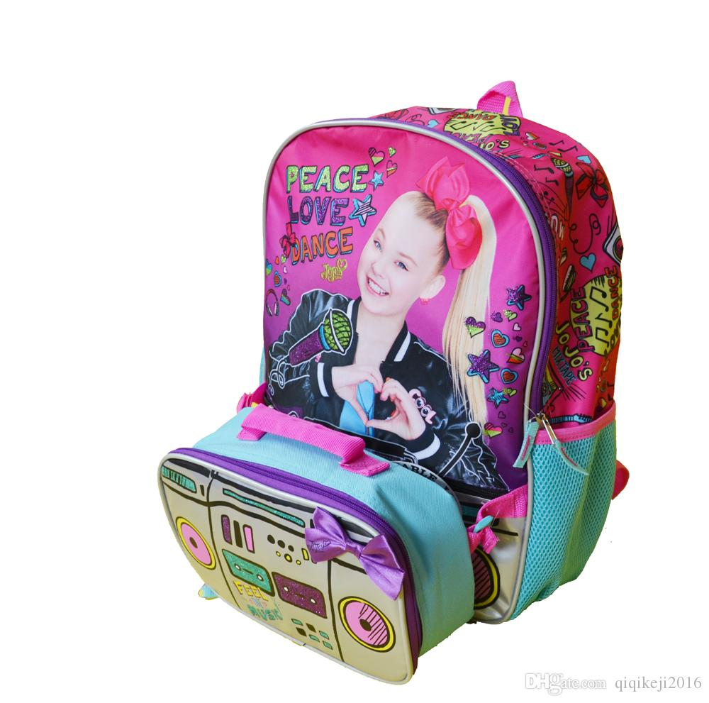29aecc39bb06 2018 Hot Seller Tape Recorder Schoolbag Color Printing Backpack Best Gift  For Children Waterproof Zipper Closure Travel Bags Online Kids Suitcases  From ...