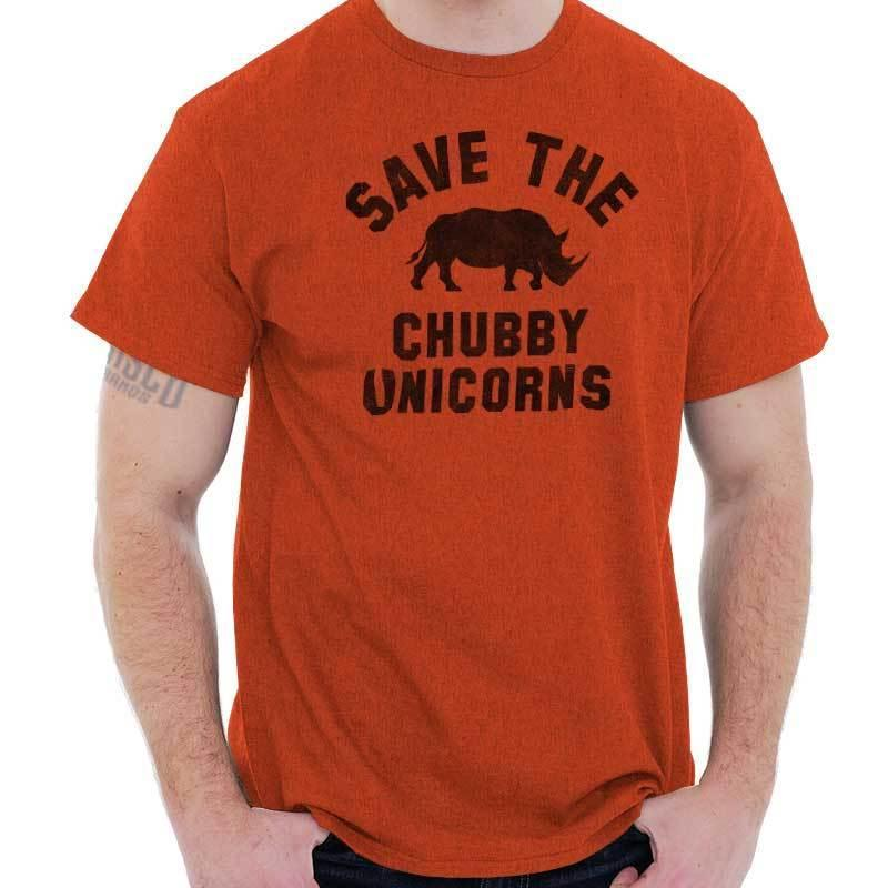 60f580b35 Details Zu Save Chubby Unicorns Funny Gym Rhino Hipster Gift Idea Cool T  Shirt Funny Unisex Casual Tee Gift Neck T Shirts T Shirts Only From  Micky_tees, ...