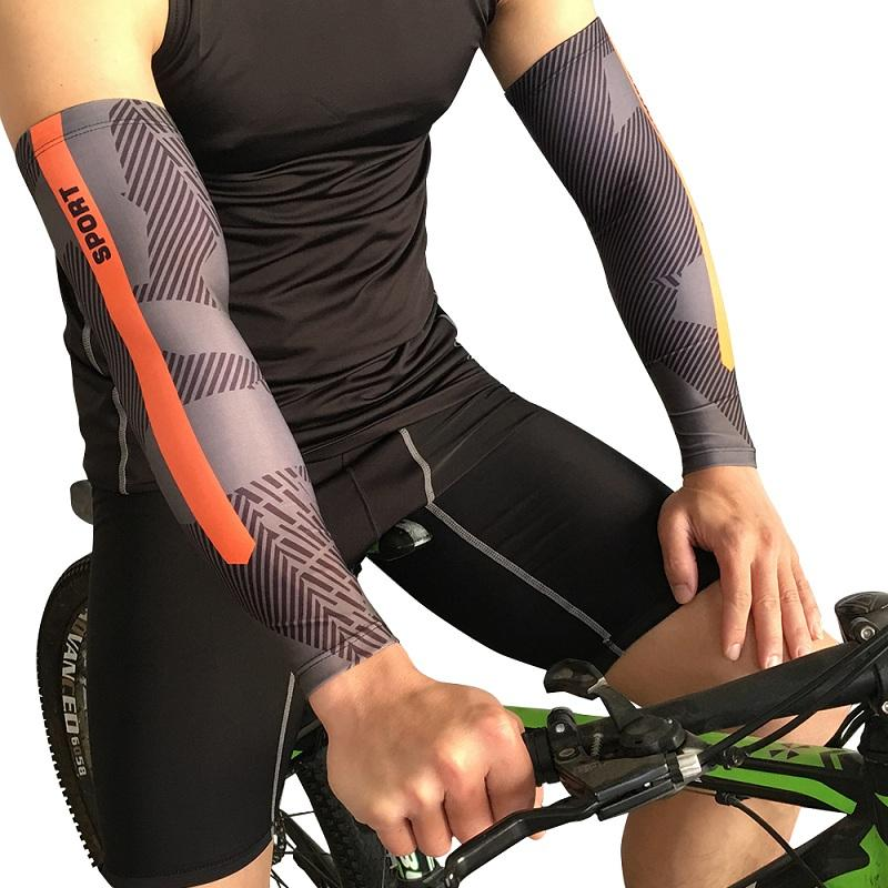 58e2397a20 2019 New Summer UV Protection Sleeves Men Cycling Running Sleeves Bike  Bicycle Arm Warmer Cool Lycra Ridding Arm Protector From Onecherry, $37.46  | DHgate.