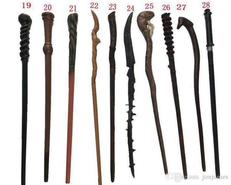 Harry Potter Magic Wand 28 design Cosplay Hermione Granger Role Play Resin Magical Wand Gift Box Harry Potter Magic Wands toy