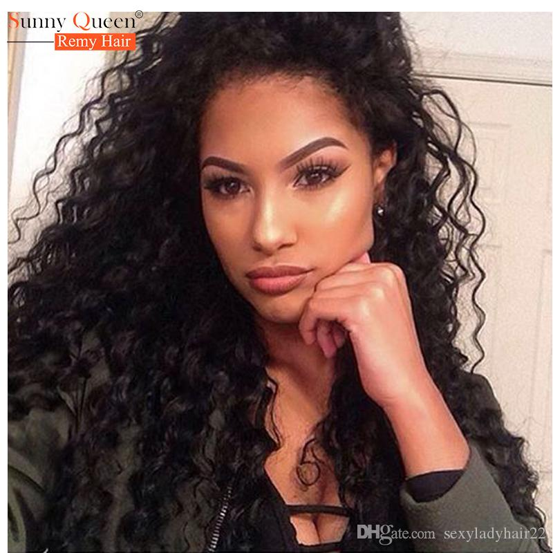 BEAUTY black women style wig #1B #2 #4 blonde/burgundy Natural Long loose Curly Synthetic Lace Front Wig with baby hair