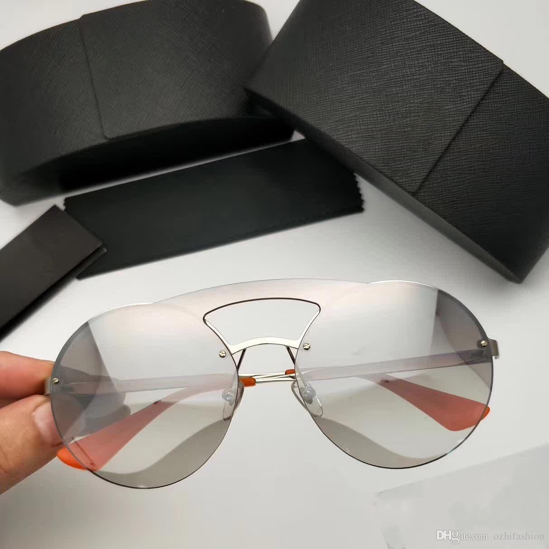 e999be2610 Compre Diseñador De Marca Gafas De Sol SPR 65TS Gafas De Sol Para Prada SPR  65TS Mujer Para Mujer Gafas De Sol Mujer Diseñador De Marca Protección UV  Gafas ...