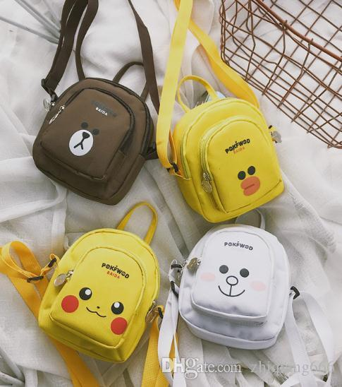 Canvas Bag Cartoon Girls Small Backpack Mini Crossbody Bag Small Children  Girl Backpacks Toddler Backpack From Zhiqiang666 e063913952caf